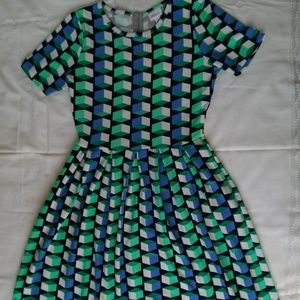 Lula Roe Amelia Dress with Pockets!